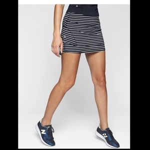 EUC Athleta Stripe Stealth Skort Tennis Skirt szS